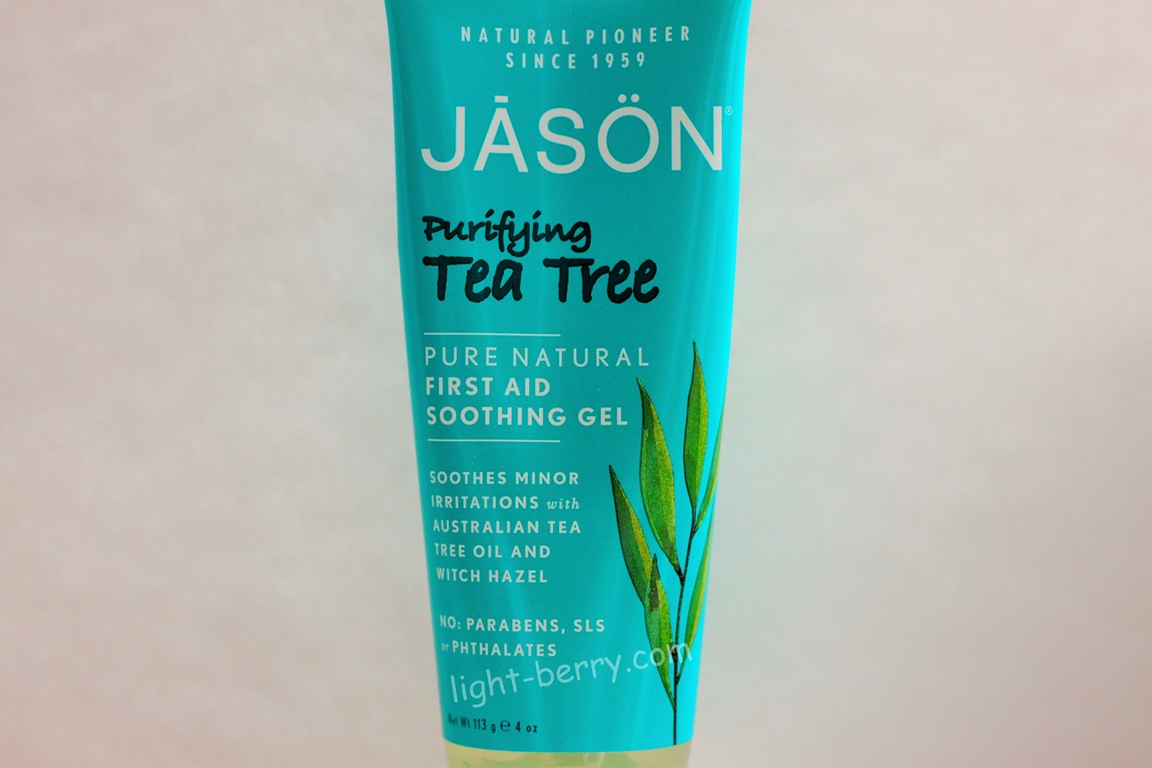 Jason Natural, First Aid Soothing Gel, Purifying Tea Tree