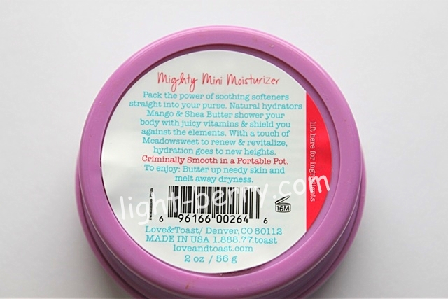 Love & Toast by Margot Elena, Body Butter, Persimmon Plum