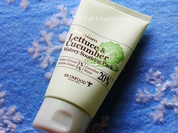 Skinfood Lettuce & Cucumber Watery Soothing Pack review