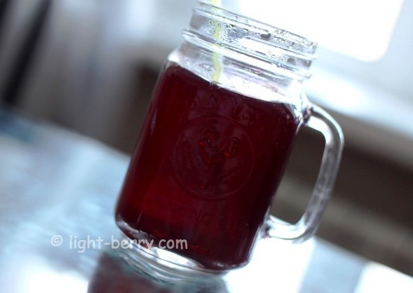 Blueberry ice tea recipe