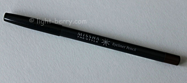 Missha The Style Eyeliner Pencil review