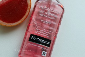Отзыв/Review: Neutrogena Visibly Clear Pink Grapefruit Wash