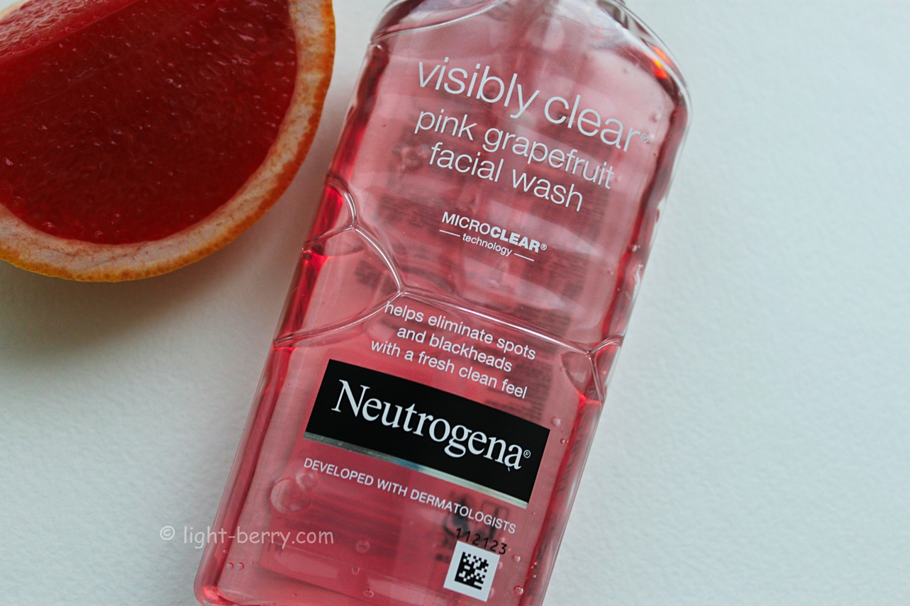 Neutrogena Visibly Clear Pink Grapefruit Wash