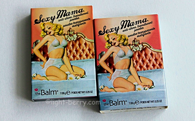 theBalm Mama Collection — Sexy Mama Anti-Shine Translucent Powder review