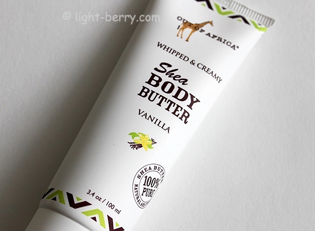 Out of Africa, Shea Body Butter, Whipped & Creamy, Vanilla