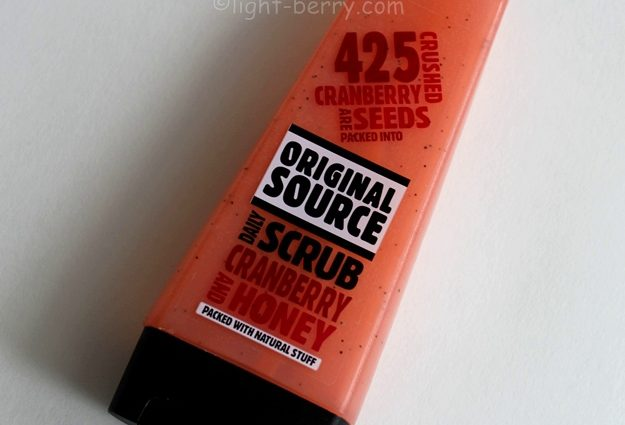 Original Source Cranberry & Honey Daily Scrub