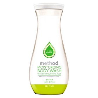 Review: Method, Pure Naked, Moisturizing Body Wash and Body Benefits, 2-in-1 Bath Sponge 2